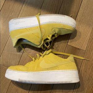 Nike Platform Air Force Ones